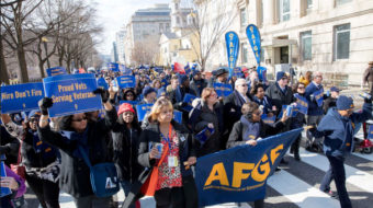 Fate of veterans major issue for unionists at D.C. conference