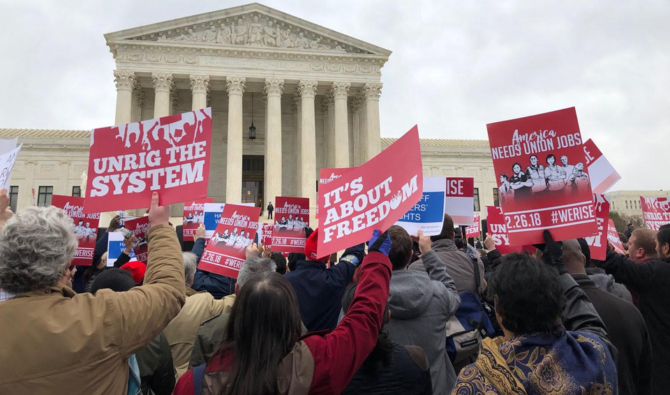 The future of the union movement hits the Supreme Court