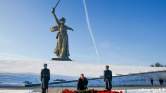 Russia marks 75 years since Nazi surrender at Stalingrad