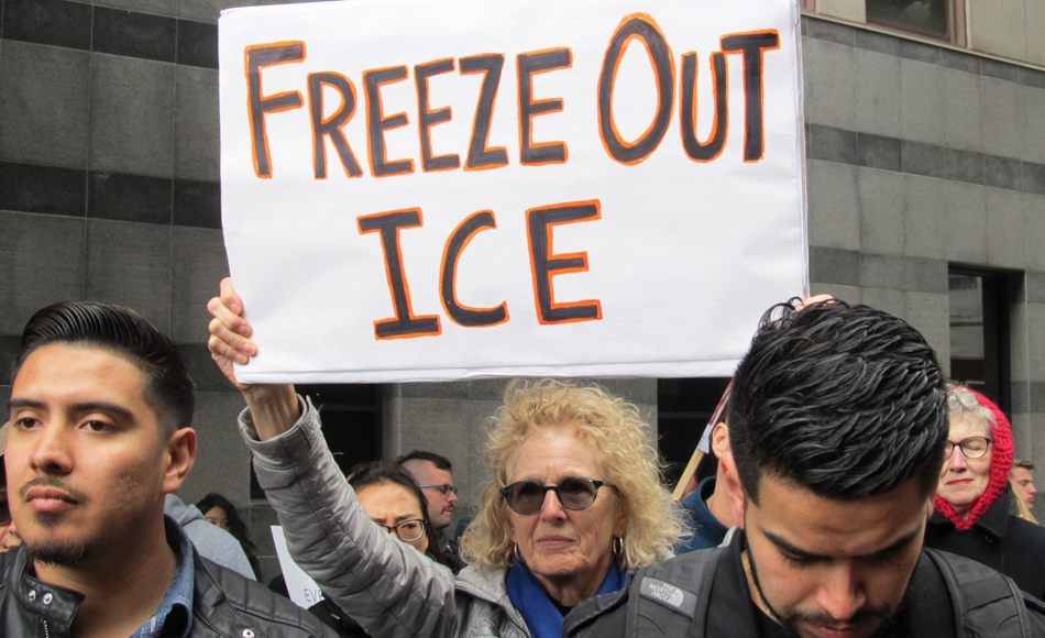 In emergency demonstration, hundreds protest northern Calif. ICE sweeps