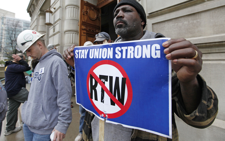 """Uline exec backs """"right-to-work"""" and right wing causes"""