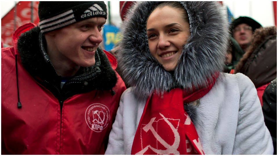 Russia's youth are turning to the Communists, not Putin