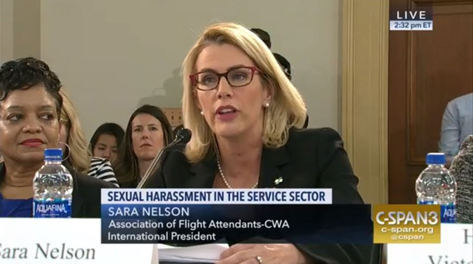 Service sector women reveal sexual harassment on the job