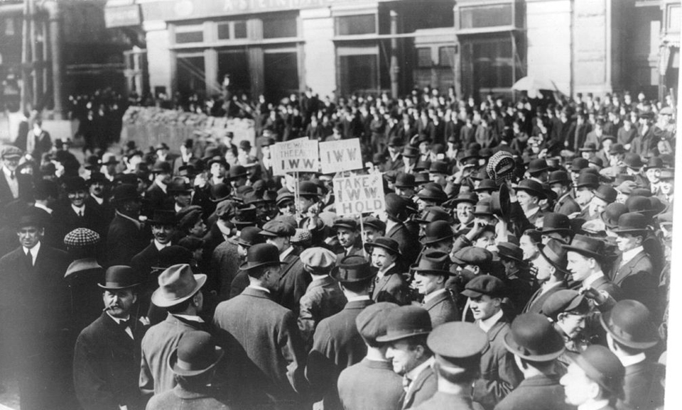"This week in history: IWW members tried in 1918 for ""obstructing the war"""
