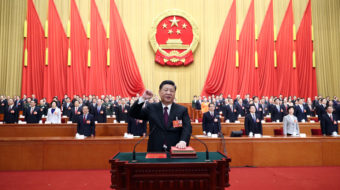 Xi pledges to protect Chinese territory and improve living standards