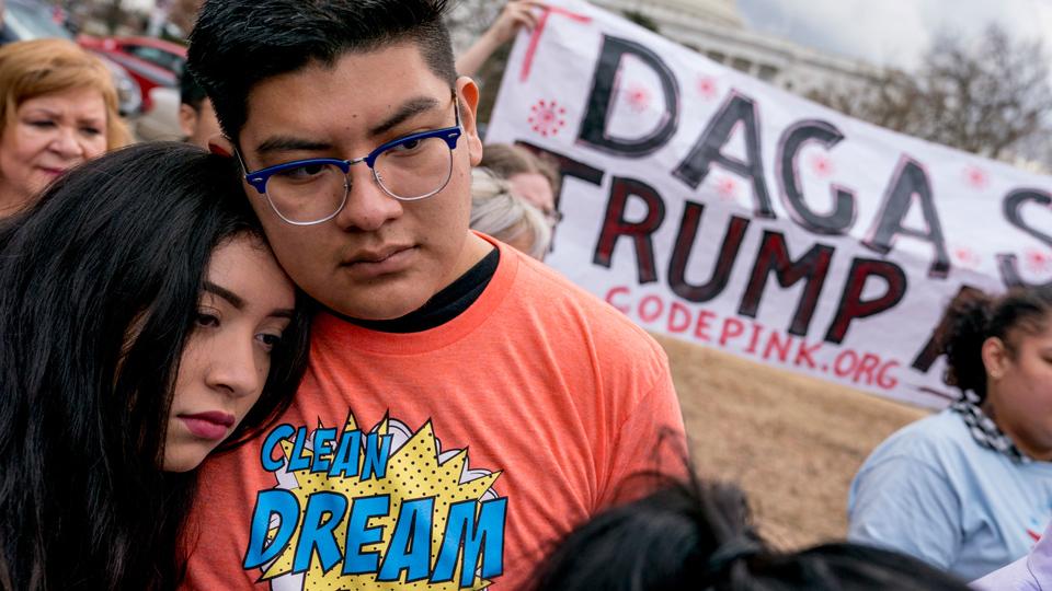 DACA: Trump dealt another blow as court orders reinstatement