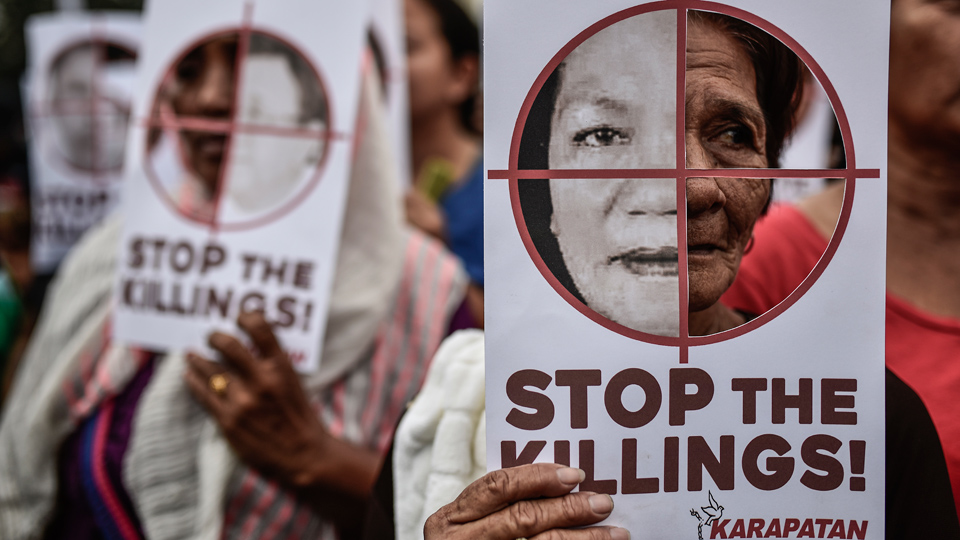Religious groups and Philippine activists denounce Duterte's killings, demand action
