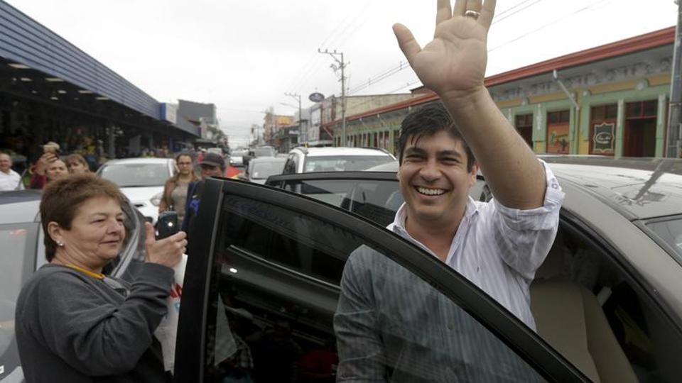 Carlos Alvarado es el presidente electo de Costa Rica
