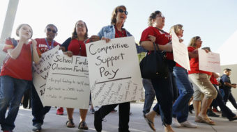 With strike looming, Arizona governor bends to teacher demands