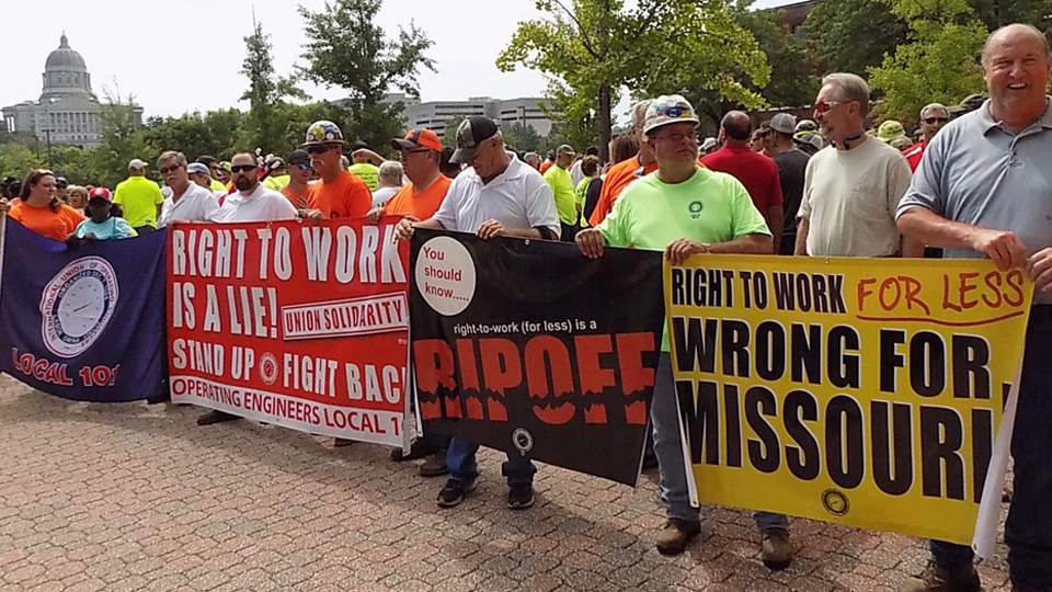 Missouri: Paid petitioners offered $1,000 to provoke fights over phony RTW petition