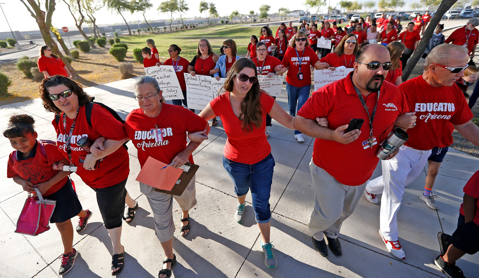 Arizona teachers ready to strike