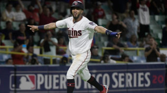 Indians-Twins series: A much needed break for Puerto Rico