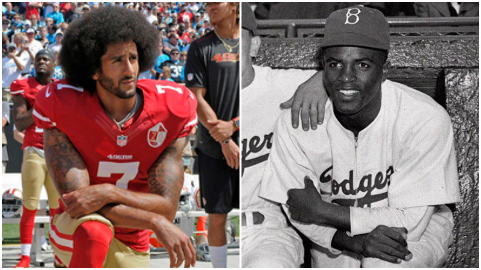 The end of Jim Crow baseball and the rise of Jim Crow football