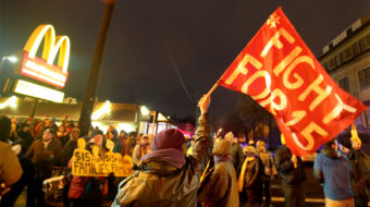 Fight for $15 blocks McDonald's deal dumping labor law responsibility on franchisees