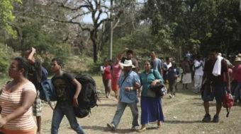Refugee caravan approaches U.S., Trump blasts Mexico, declares DACA dead