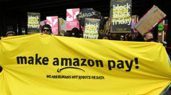 German workers say Amazon boss Jeff Bezos deserves no awards