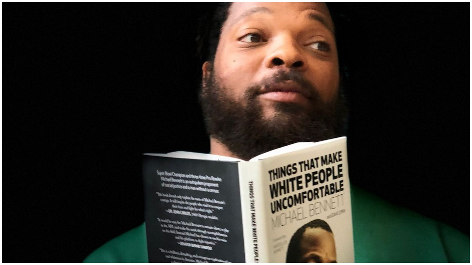 Michael Bennett and things that make the Houston police uncomfortable