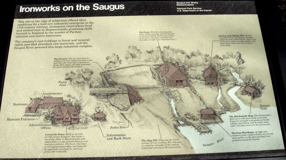 This week in history: Saugus Iron Works, 50 years a National Historic Site