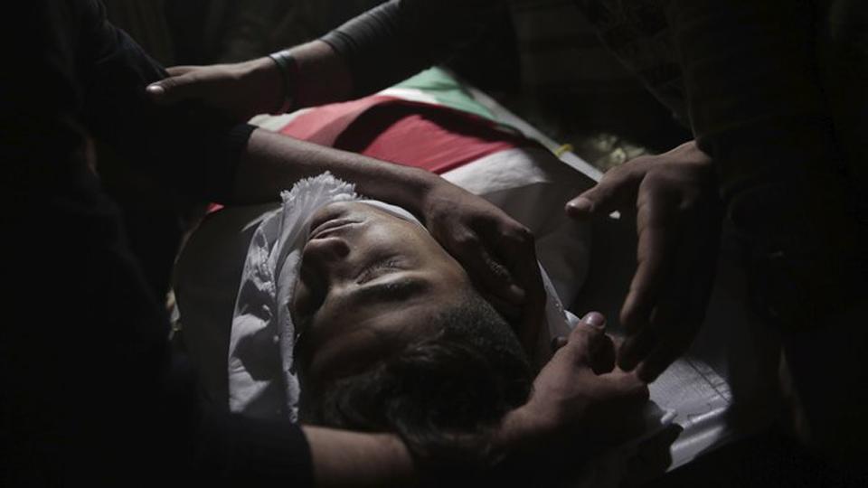 Protestas en Gaza por apertura de embajada EEUU en Jerusalén