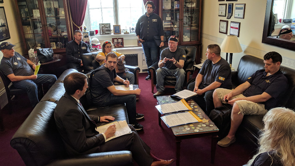 Trade, worker rights, retirement security top lobbying topics for Steelworkers