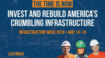 "Laborers' O'Sullivan: ""No single answer' to funding U.S. infrastructure needs"