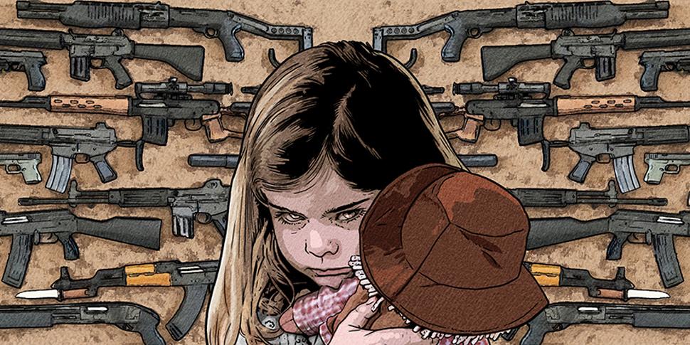 Comic book artists and survivors address gun violence