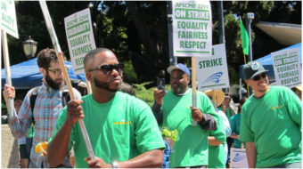 """""""We Run UC""""—Support workers strike the Univ. of California system"""