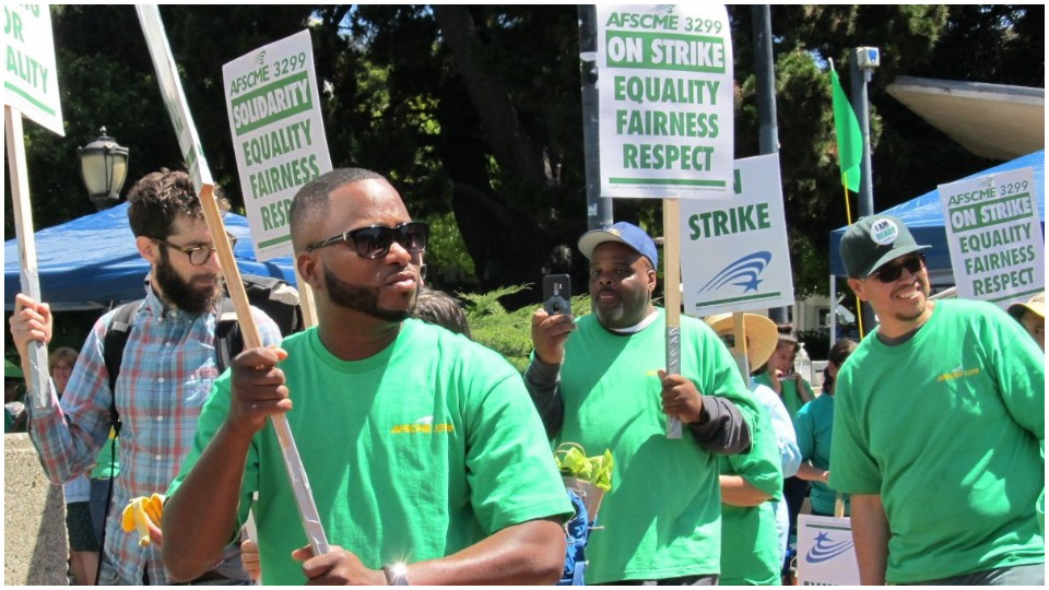 """We Run UC""—Support workers strike the Univ. of California system"