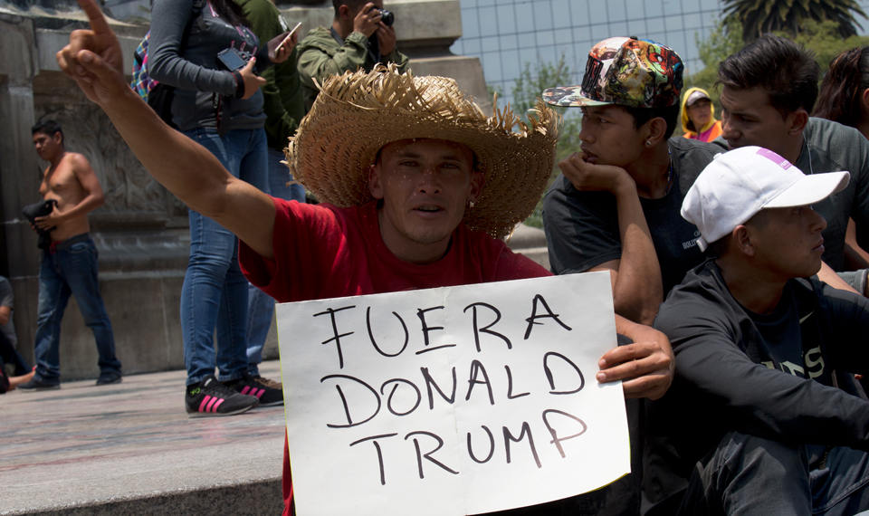 "Trump ends TPS for Hondurans; stokes racist frenzy over ""caravan"""