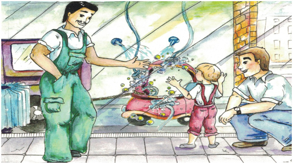 'Jimmy's Carwash Adventure': A children's bilingual introduction to worker justice
