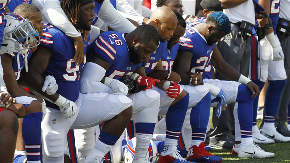 NFL's new anthem policy normalizes un-American racism and repression