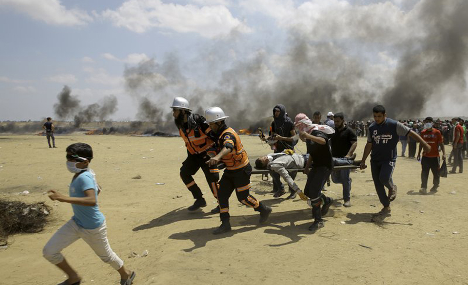 Gaza massacre: Palestinians killed as U.S. embassy moves to Jerusalem