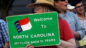 NC teachers demand more money for schools, better pay