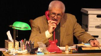 Nazi hunter Simon Wiesenthal retakes the stage