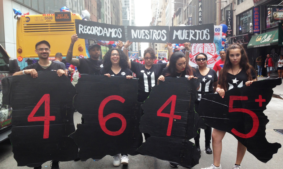 Climate justice and economy: Demands at NYC's Puerto Rican Day Parade