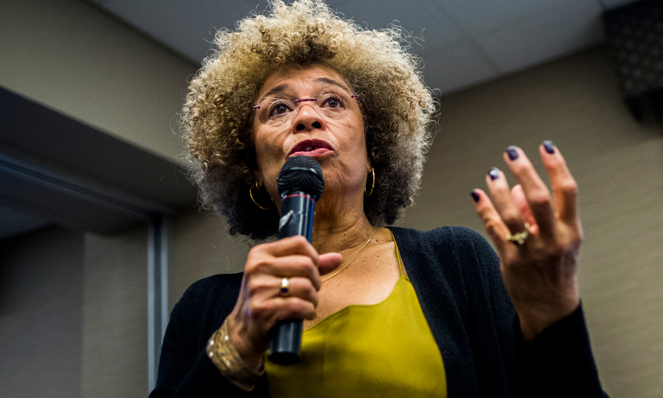 "Angela Davis: ""Education must not be sacrificed at the altar of profit"""