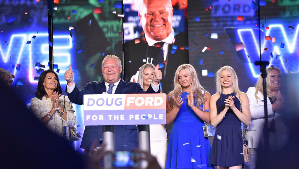 Ontario election: Cheap beer and tax cuts win it for Doug Ford