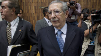 Rios Montt passed on: Fight for justice continues