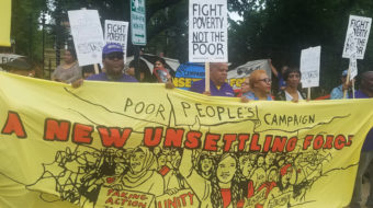 Worker rights theme of Poor People's Campaign this week