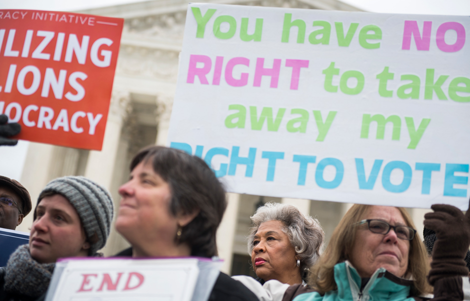 Supreme Court blows another hole in voting rights