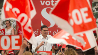 Spanish socialists defeat conservative Rajoy government