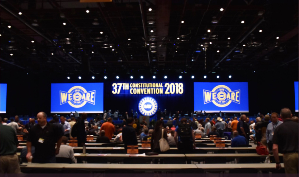 UAW delegates endorse economic platform, some say not enough