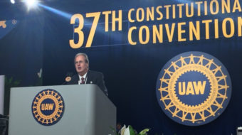 UAW delegates elect Jones slate to top slots