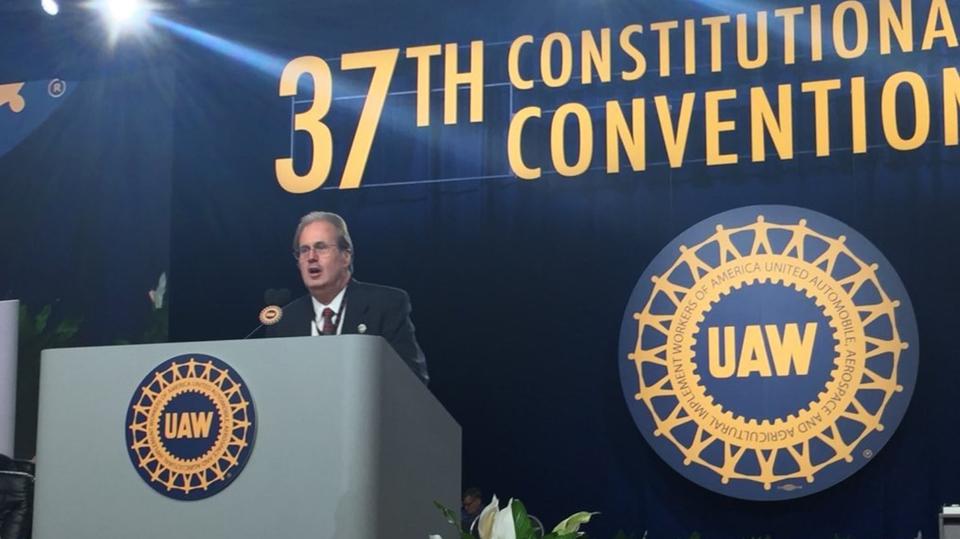 UAW delegates elect Jones slate to top slots