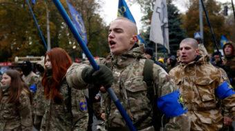 Scottish parliament welcomes neo-Nazi leader