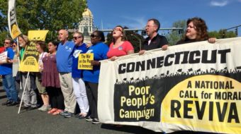Connecticut Poor People's Campaign marches on state capitol