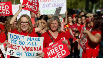 Take me home, West Virginia: Mountain state teachers celebrate in DC