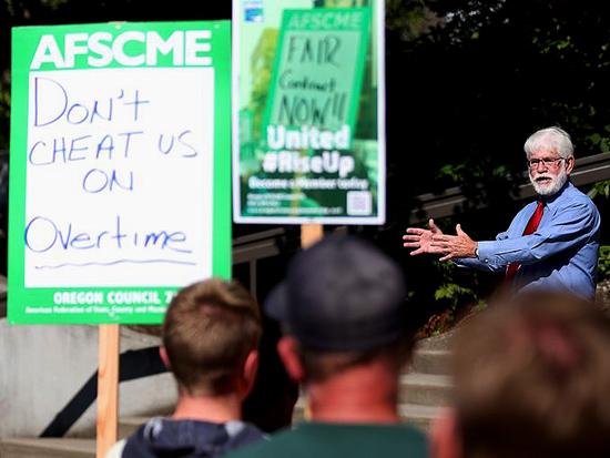 City workers in Salem, Oregon negotiate first post-Janus