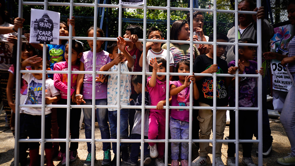Locking up immigrant children is now a billion-dollar industry