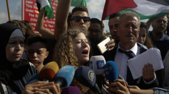 Freedom for Palestinian resistance icon Ahed Tamimi